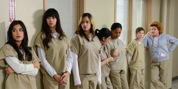 inmates standing in line orange is the new black