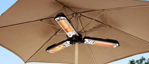 Hiland Parasol Electric Patio Heater review | Top Ten Reviews