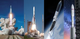 SpaceX, ULA, Blue Origin and Northrop Grumman Innovation Systems were among the contenders for U.S. Air Force Launch Service Agreement contracts.