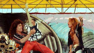 Van Halen in 1977
