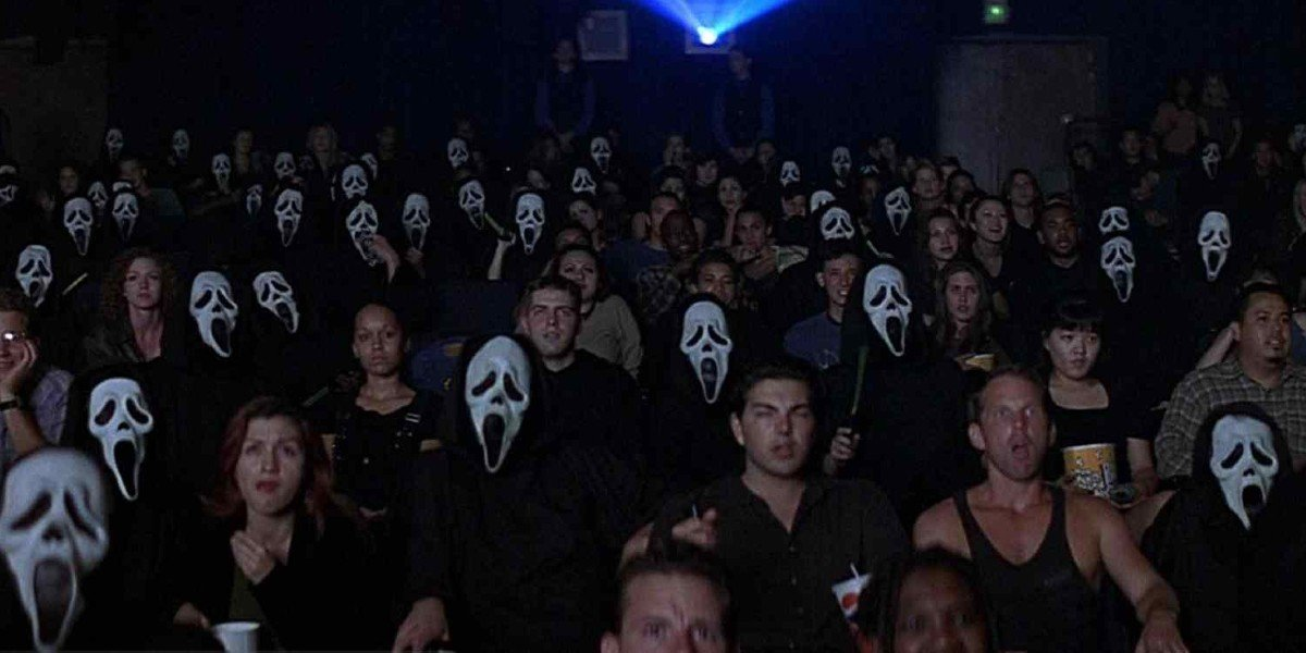 Scream 2's opening sequence