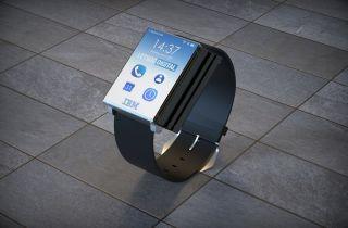IBM folding watch