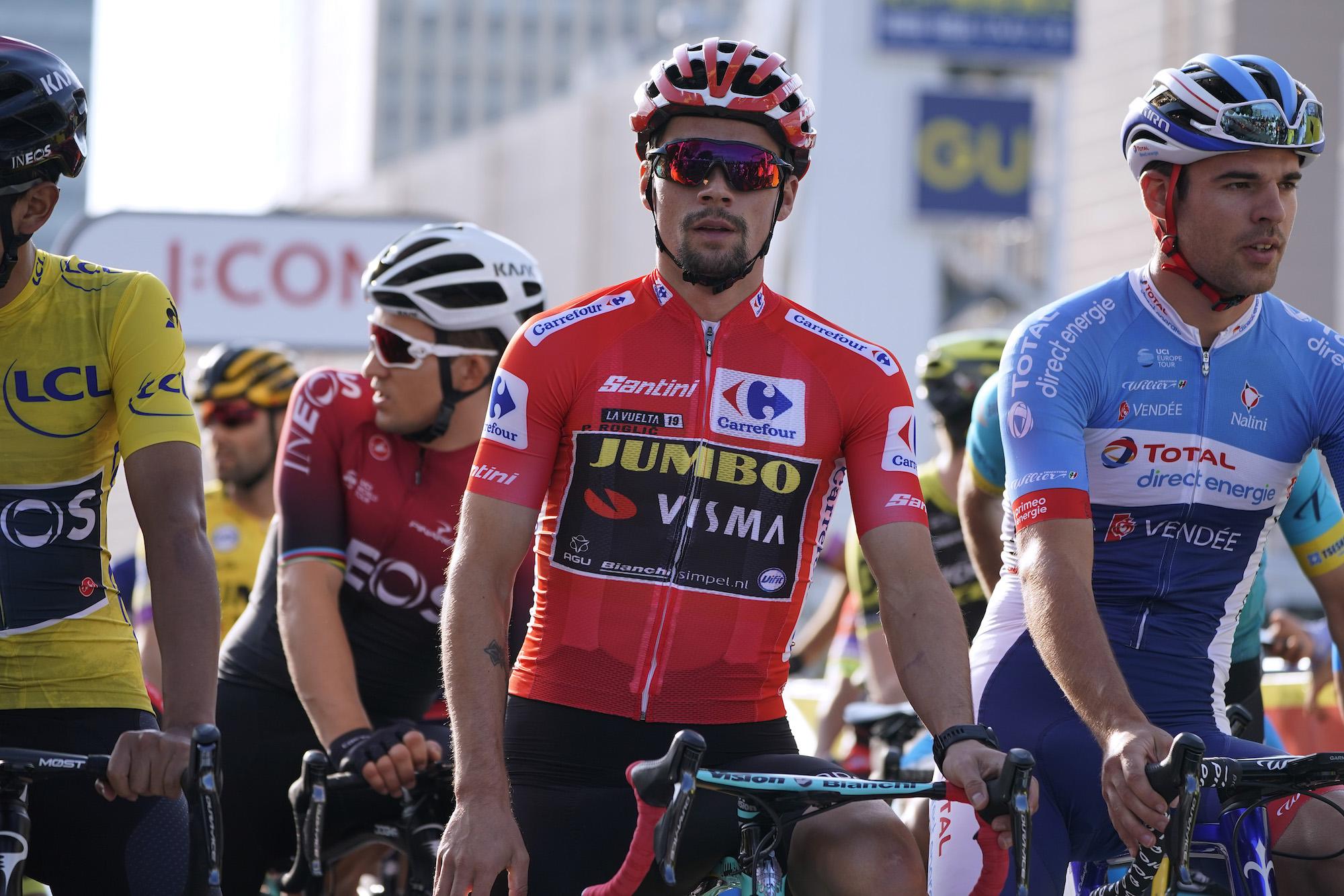 Primož Roglič says he's the big favourite for the Tour de France 2020