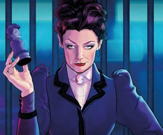 """The Doctor's arch nemesis the Master returns in the 50th anniversary comics series """"Missy"""" in April 2021."""