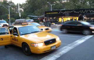 taxi, hailing a cab, app