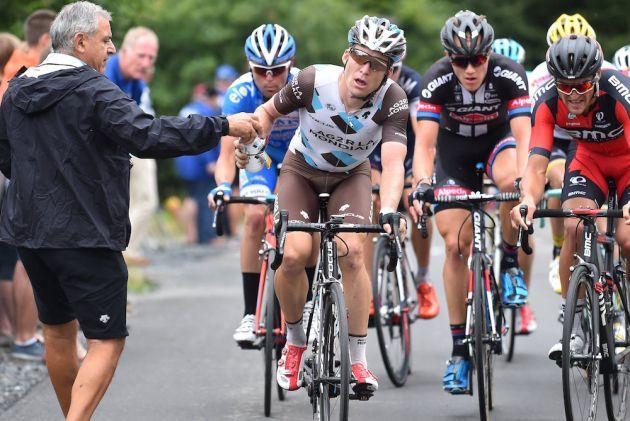 coca cola en el ciclismo