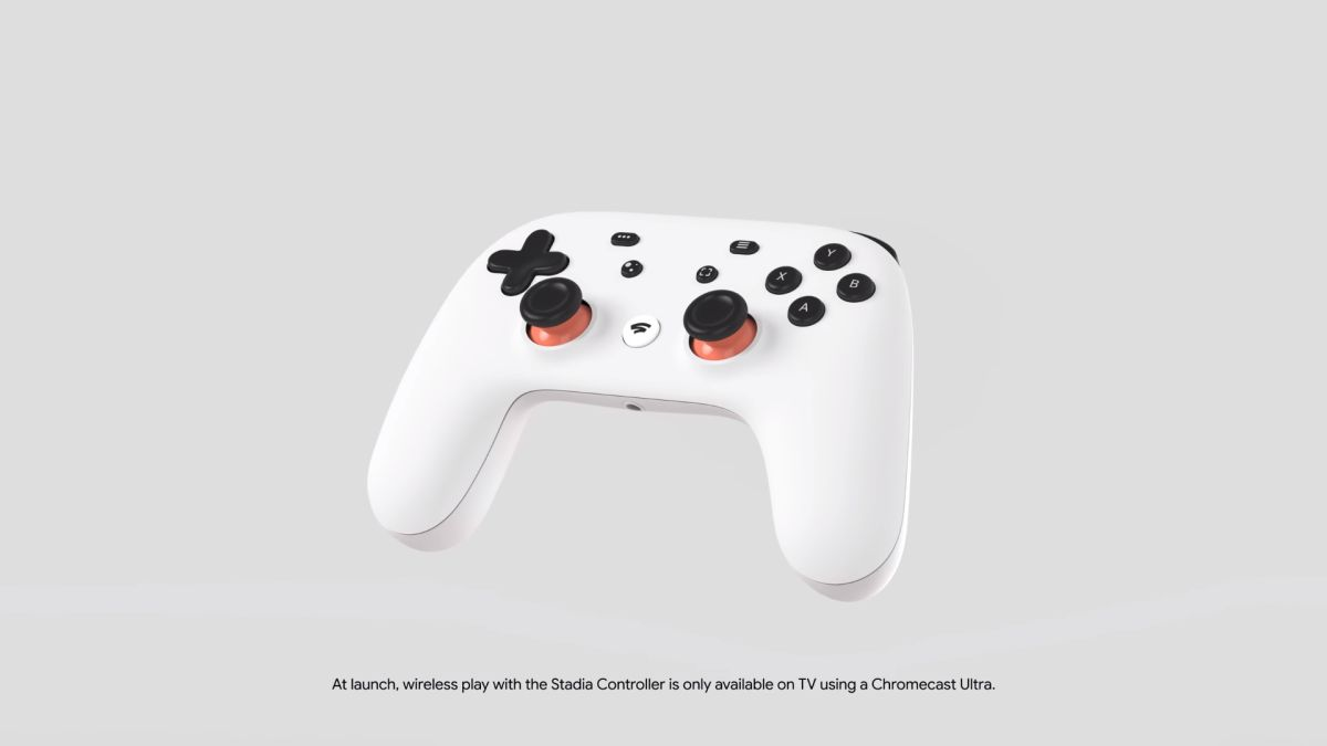 The Google Stadia controller will be less wireless than we thought, at least at launch