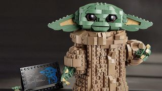Lego Baby Yoda is now up for pre-order, and it has over 1,000 pieces