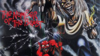 The cover of Iron Maiden's Number Of The Beast album
