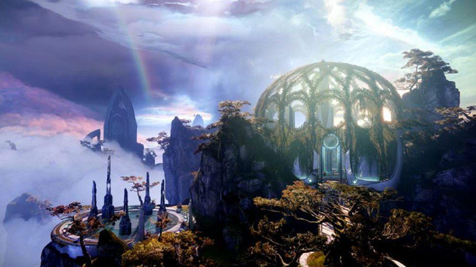 Image of a landscape in Destiny 2