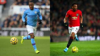 man city vs man united live stream manchester derby raheem sterling anthony martial