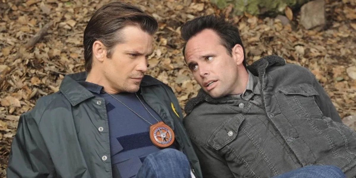 Timothy Olyphant and Walton Goggins on Justified