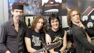 The Darkness in 2002