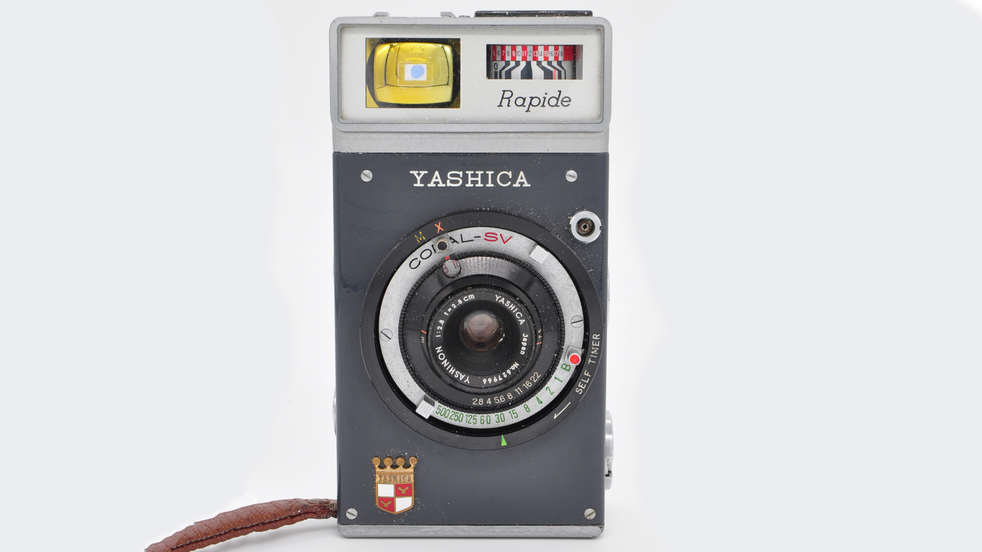The front of the Yashica Rapide camera