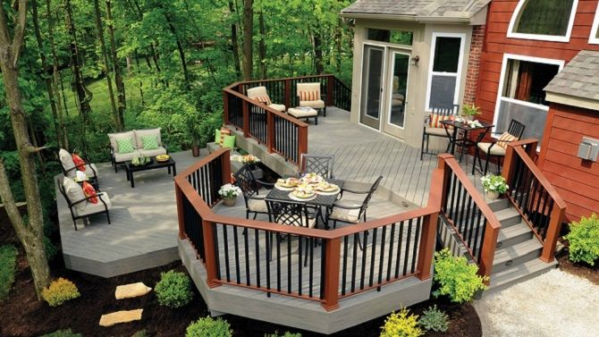 16 deck railing ideas to spice up your porch or patio