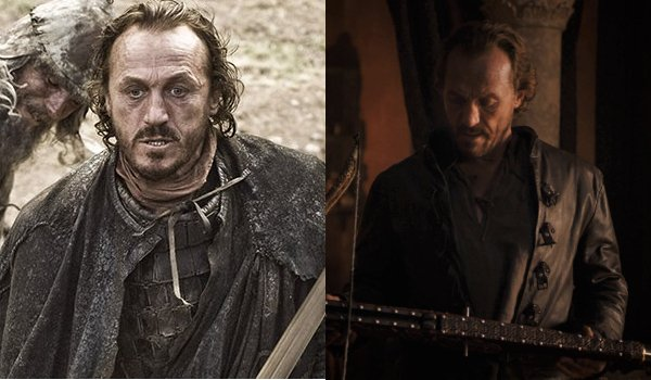 Game of Thrones Bronn Then and Now