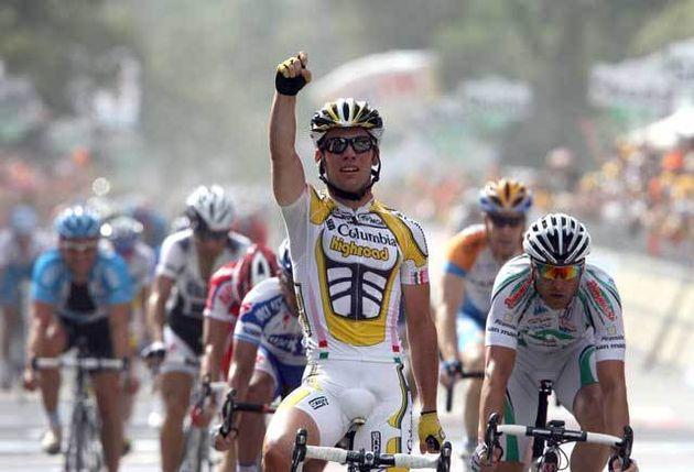 Mark Cavendish Giro 2009 stage 13