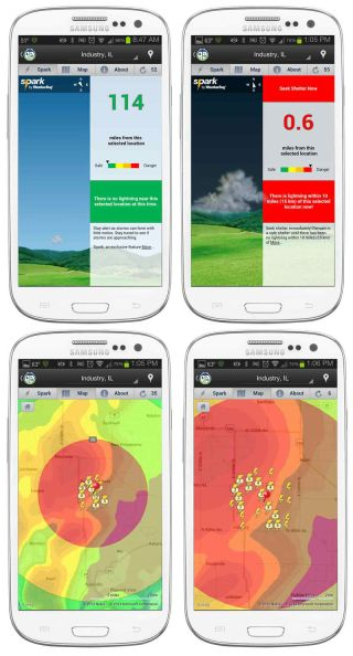 New App Tells You When Lightning Is Nearby | Live Science