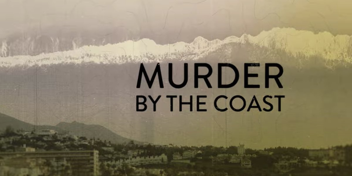 Murder by the Coast title card