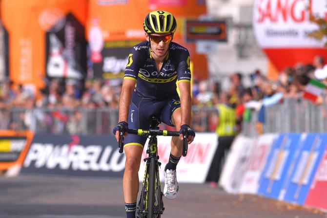 Adam Yates (Orica Scott) finished second at Milano-Torino