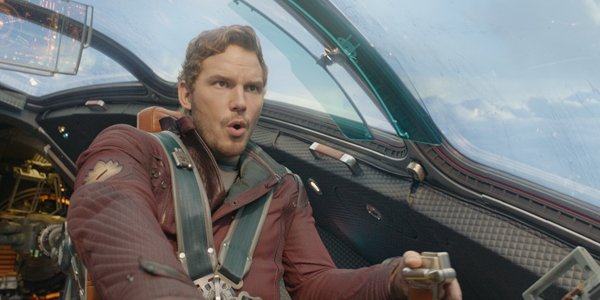 Chris Pratt as Peter Quill in Guardians Of The Galaxy