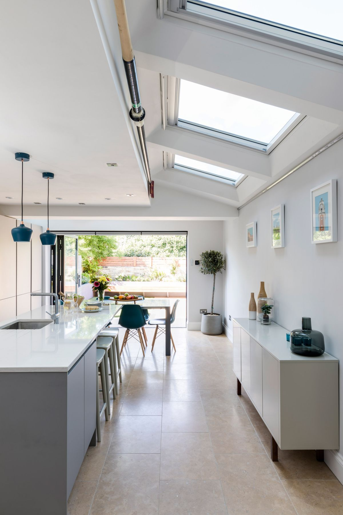 Take a tour of this modern kitchen extension that's perfect for entertaining