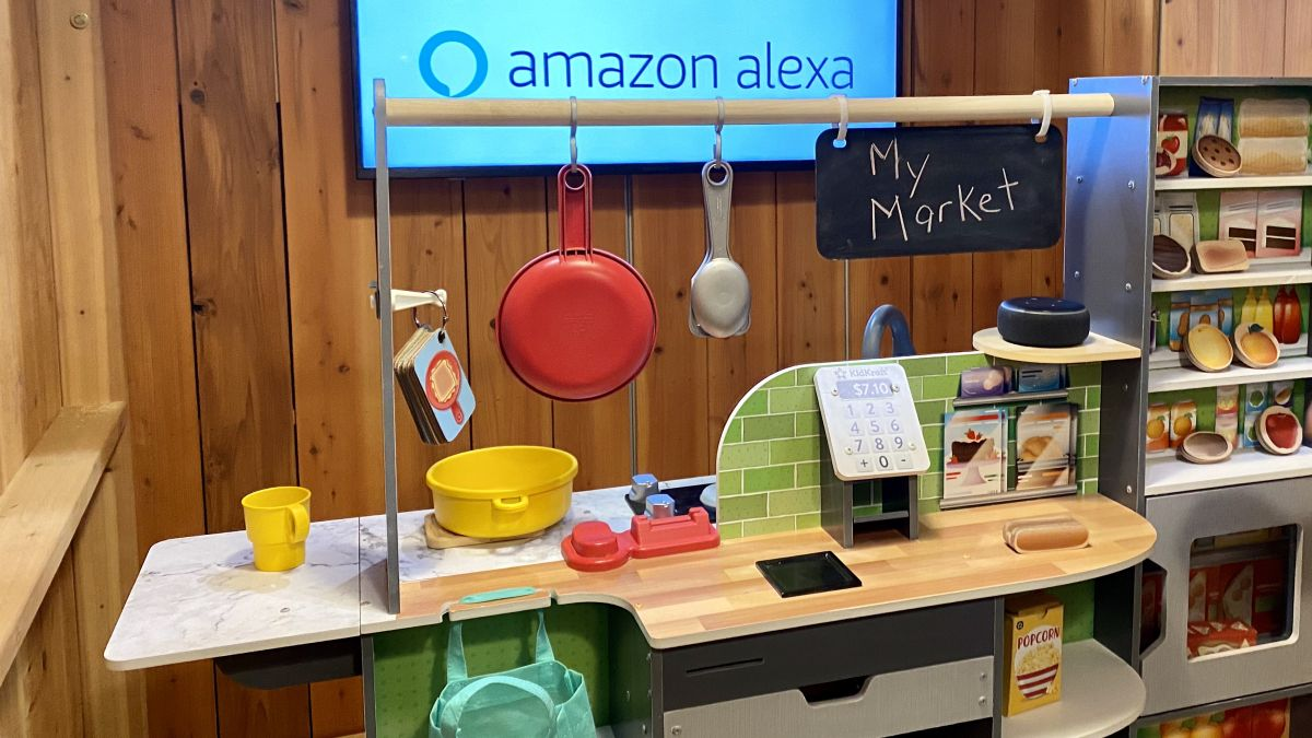 This Alexa kitchen playset is clever — and also really creepy - Tom's Guide