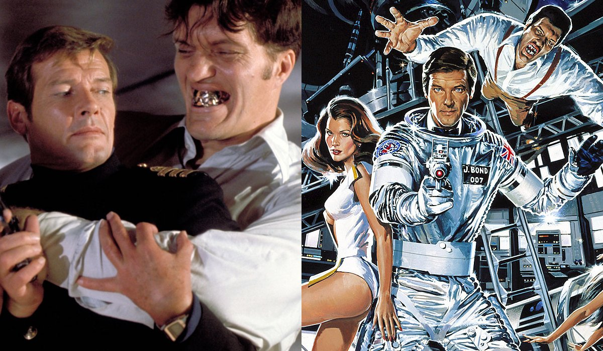 The Spy Who Loved Me Moonraker side by side