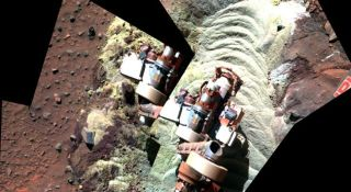 Trapped Mars Rover Finds Signs of Buried Martian Water in Recent Past