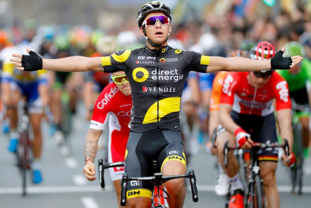 Bryan Coquard (Direct Energie) won stage four of the 2017 Ruta del Sol (Getty)