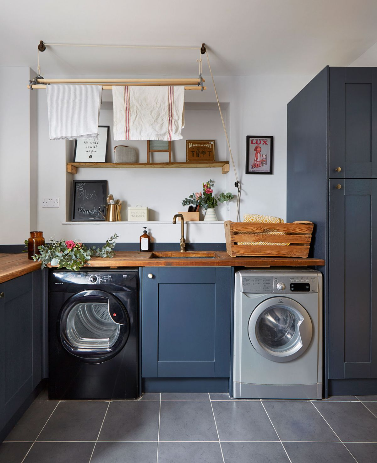 Designing a utility room how to plan a laundry space   Real Homes