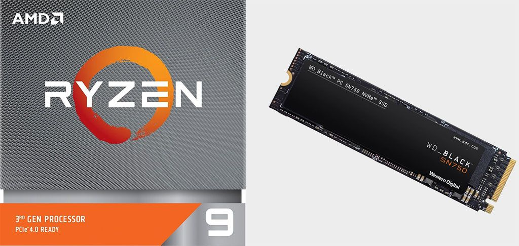 This AMD Ryzen 9 3900X CPU and 500GB NVMe SSD bundle is on sale for $449.98