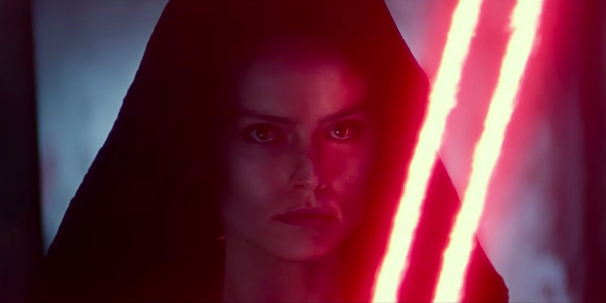 Star Wars The Rise Of Skywalker Set Photo Reveals Rey On Palpatine S Throne Cinemablend