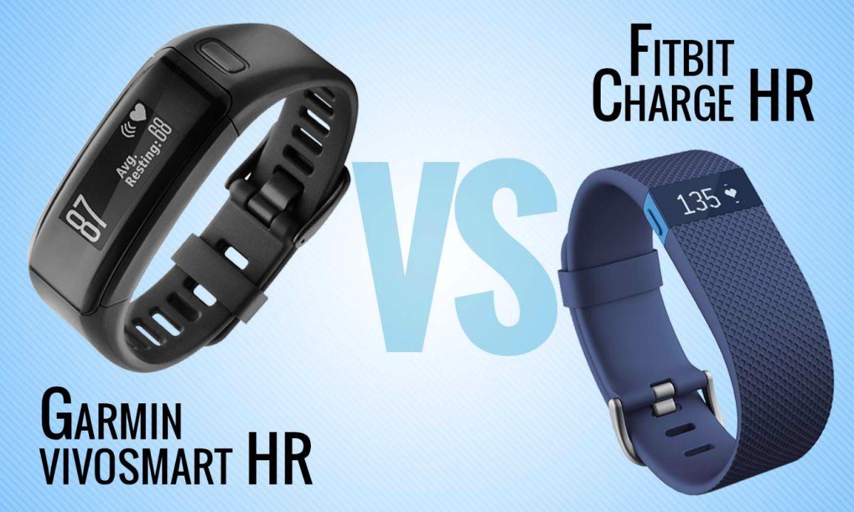 Garmin Vivosmart HR vs  Fitbit Charge HR: Why Garmin Wins