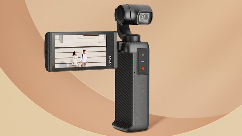 Moza MOIN gimbal camera takes on the DJI Pocket 2 with a flip-out 2.5-inch screen