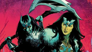Wonder Woman #772 cover excerpt
