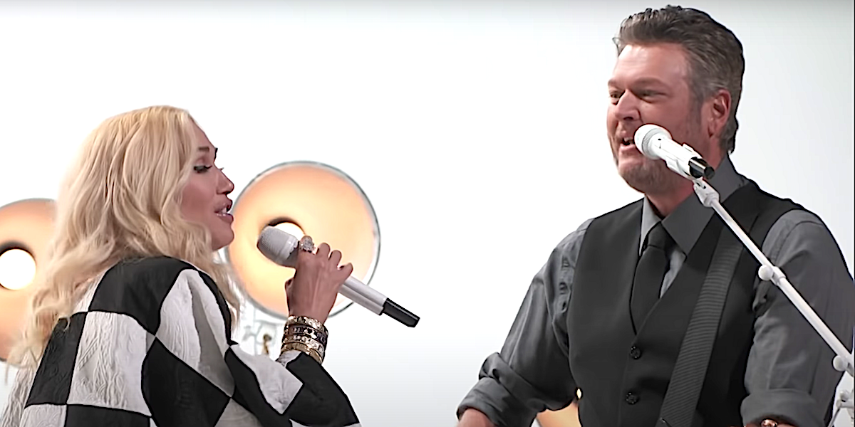 Gwen Stefani Playfully Called Out Blake Shelton For Getting Her Married Name Wrong During Surprise Performance