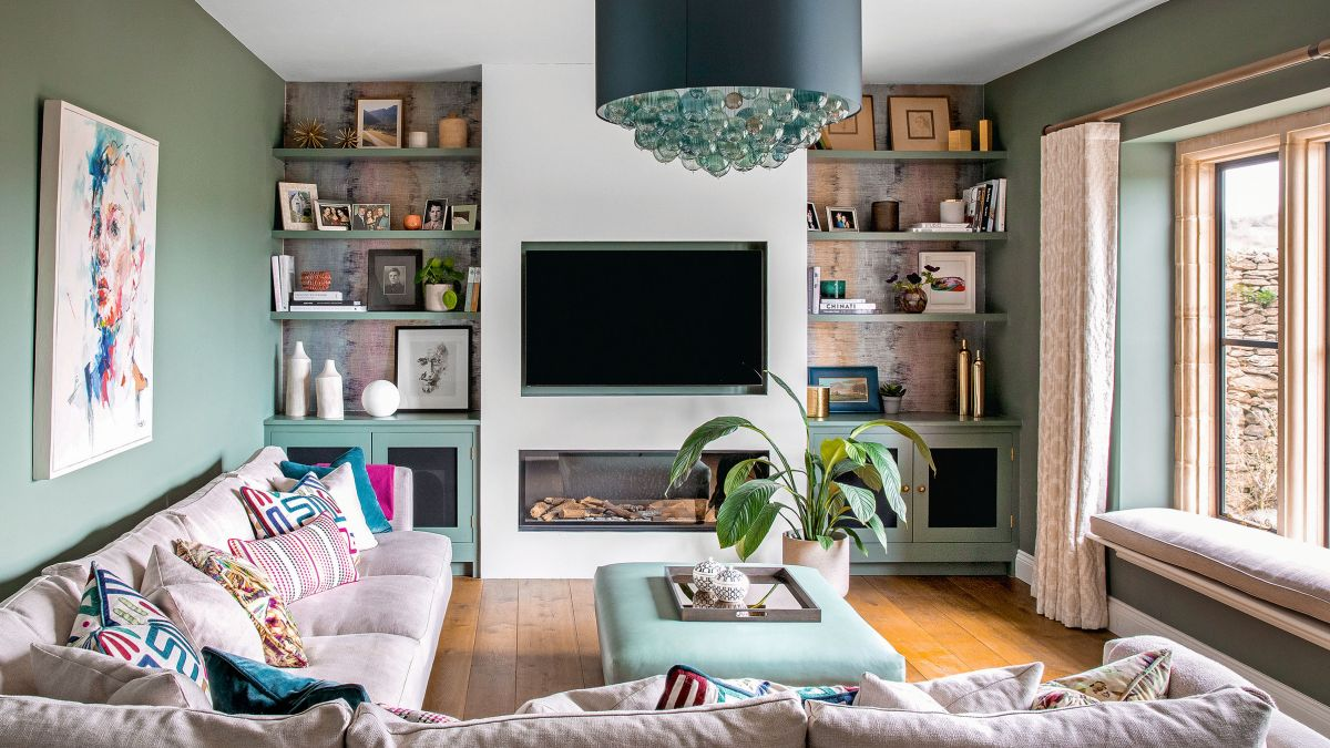 Living room TV ideas – 10 ways to style a TV to perfection