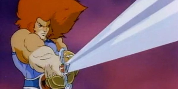 Lion-O wielding the Sword of Omens in ThunderCats