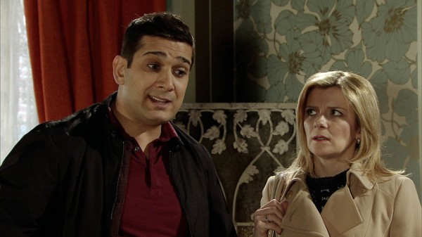 Kal's mum is keen to split him up from Leanne (ITV)