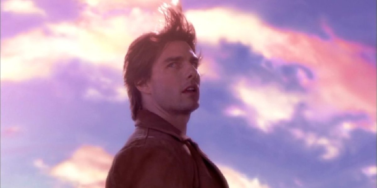 Tom Cruise in Vanilla Sky.