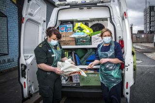 TV Tonight - Mental health specialists Linda and Emma head out on another shift.