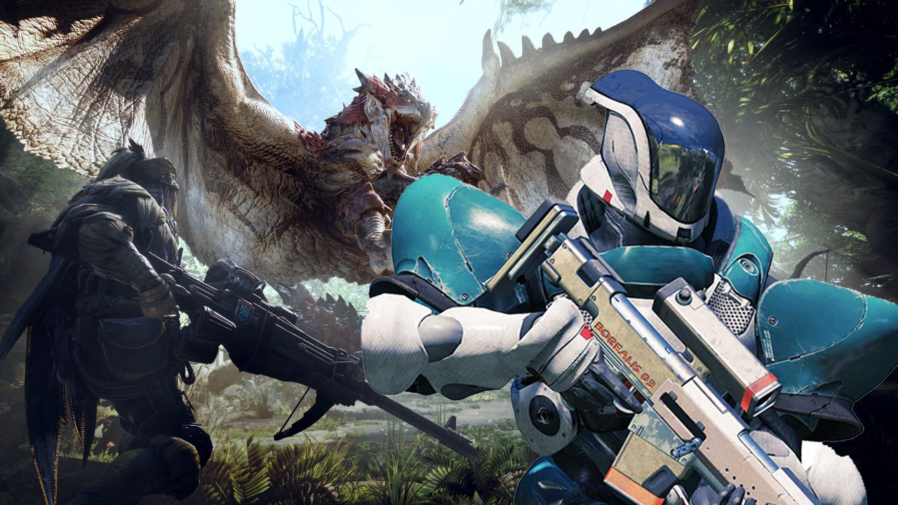 Why do so many Destiny players seem to love Monster Hunter World all