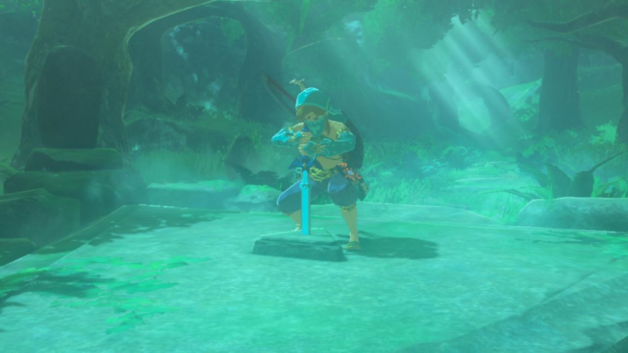 The Legend of Zelda: Breath of the Wild unbreakable / high