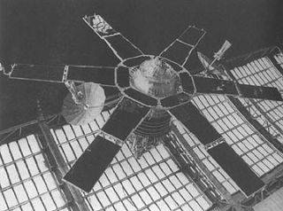Molniya 1 Satellite