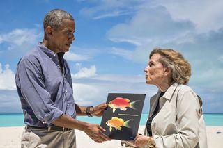 Barack Obama fish