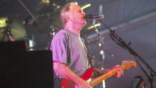 Pink Floyd's David Gilmour onstage in 1994