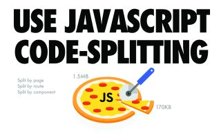 How to code faster, lighter JavaScript