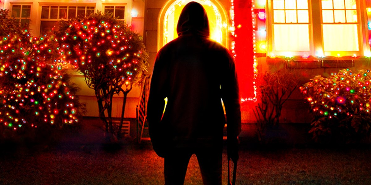 A promotional image for Homicide for the Holidays