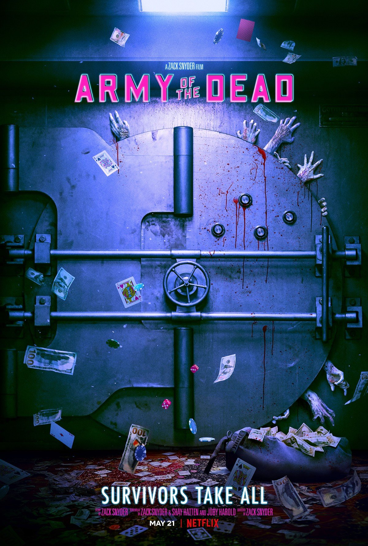 Army of the Dead teaser poster
